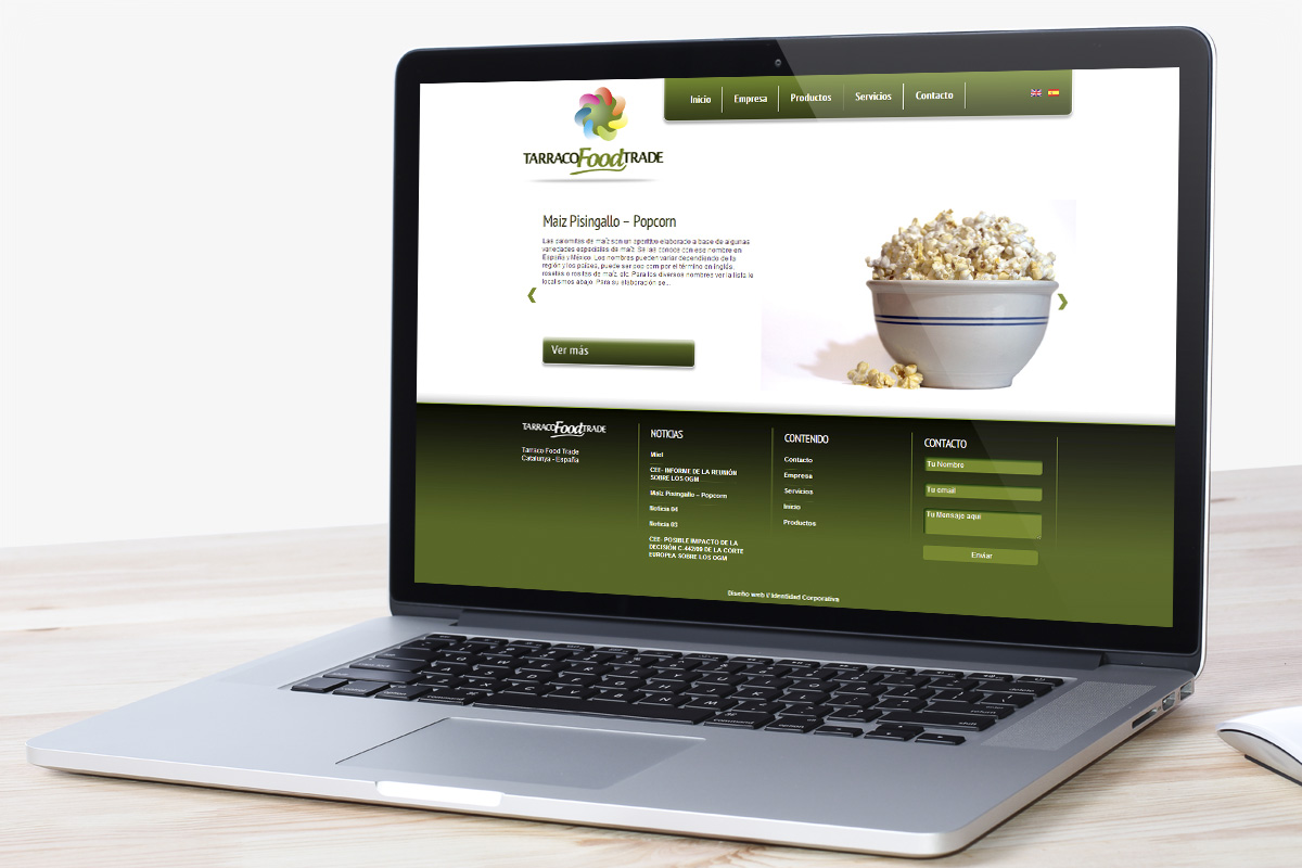 Tarraco FoodTrade Web